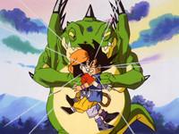 龙珠GT 第49话「最强的敌人 会用恐怖阴招的邪恶龙」