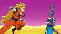龙珠超 第5话「界王星的决战! 悟空VS破坏神比鲁斯」