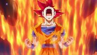 龙珠超 第12话「宇宙变成碎片!? 激烈搏斗!破坏神VS超级赛亚人之神!」