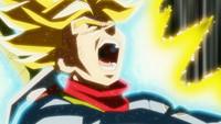 龙珠超 第62话「我来守护世界! 特兰克斯愤怒之下 超级能量大爆发!!」