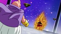 龙珠超 第79话「第九宇宙踢腿功巴兹尔VS第七宇宙魔人布欧!!」